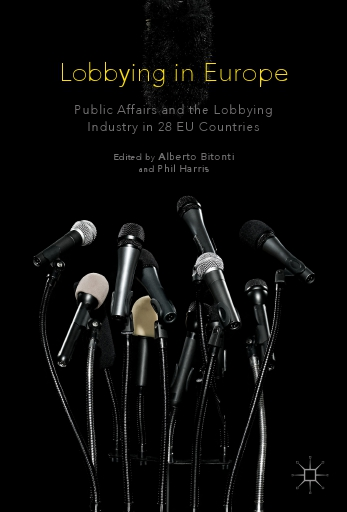 Lobbying in Europe (book cover)